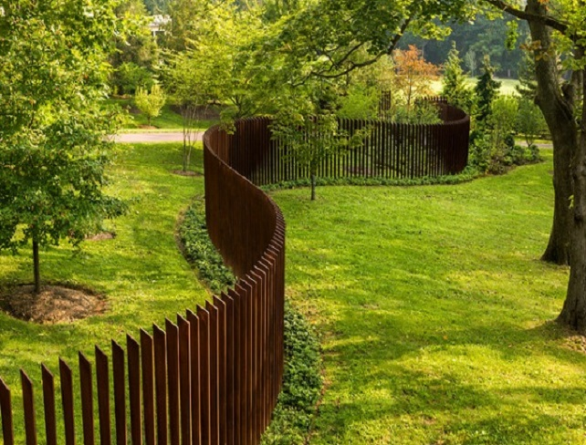 Why to choose a corten steel fence?