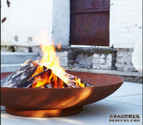The features of corten steel fire pit