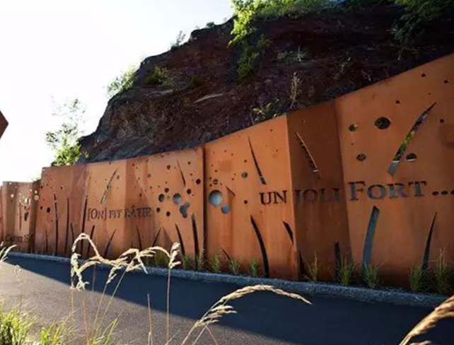 Why do the curing treatment for rust layer of corten texture?