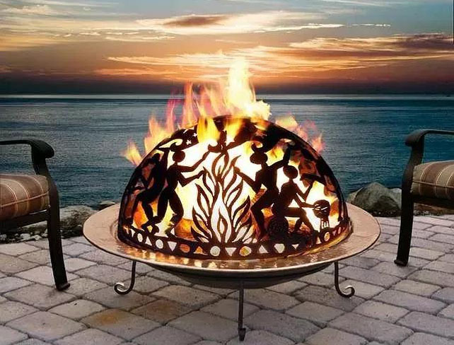 how to build a corten fire pit?